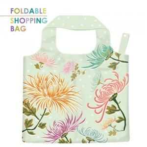 PL014-Dendranthema - Wholesale Polyester Nylon Grocery Reusable Shopping Bag, Tote Grocery Fold Shopping Bag, Eco-Friendly lightweight Bags.